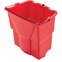 Image for Rubbermaid Commercial WaveBrake 18 Quart Dirty Water Bucket, 14 Inches x 9.8 Inches from School Specialty