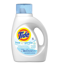 Image for Tide Free & Gentle Detergent, 46 Fluid Ounces from School Specialty