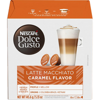 Image for Nescafe Dolce Gusto Caramel Latte Macchiato Pods, Box of 16 from SSIB2BStore