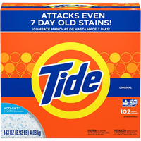 Image for Tide Original Laundry Powder, Concentrate Powder, 143 Ounces, Original Scent from School Specialty
