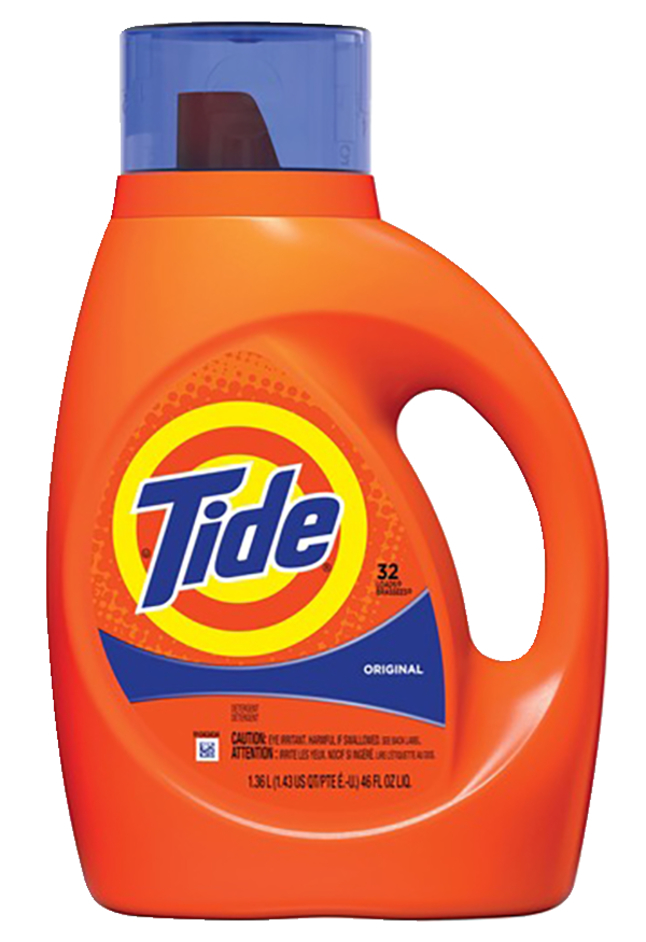 Image for Tide Original Laundry Detergent, Concentrate Liquid, 46 Fluid Ounces, Original Scent from School Specialty