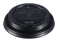 Image for Solo Traveler Dome Hot Cup Lids, Dome from SSIB2BStore