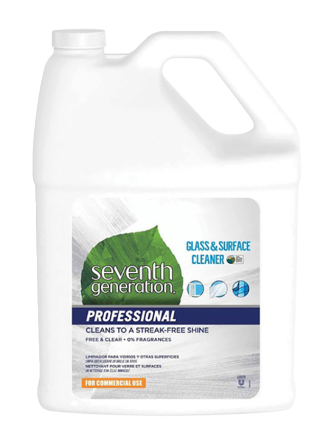 Image for Seventh Generation Professional Glass and Surface Cleaner, 128 Fluid Ounces from SSIB2BStore