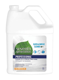 Image for Seventh Generation Professional Glass and Surface Cleaner, 128 Fluid Ounces from School Specialty
