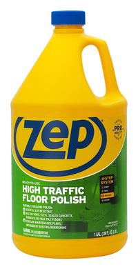 Image for Zep Commercial High-Traffic Floor Finish, 128 Fluid Ounces, Carton of 4, Green from SSIB2BStore