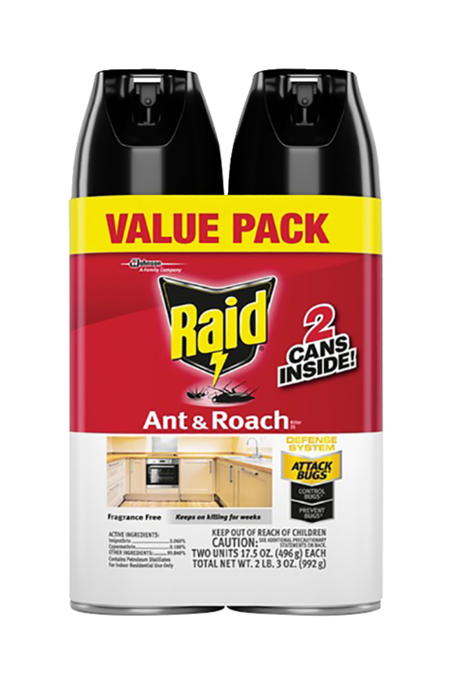 Image for Raid Ant & Roach Killer, Fragrance-Free from School Specialty