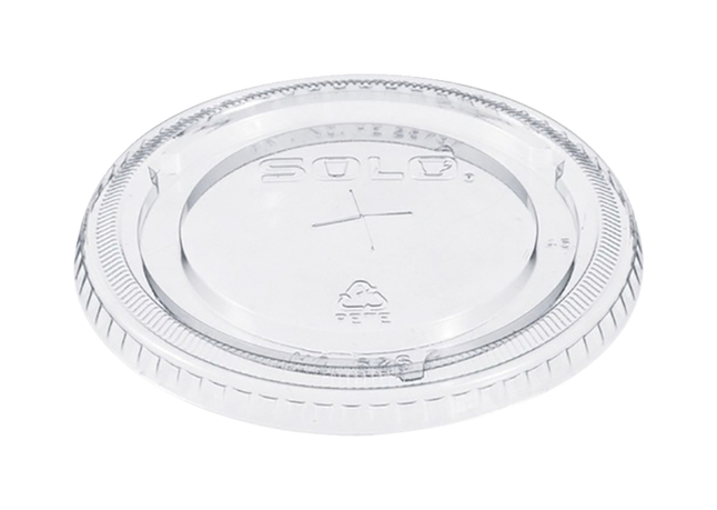 Image for Solo Cup Straw Slotted Clear Lids from SSIB2BStore