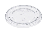 Image for Solo Cup Straw Slotted Clear Lids from School Specialty