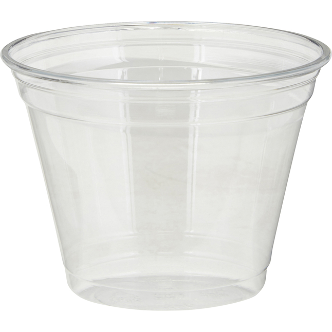 Image for Dixie Plastic Cold Cups, 9 Ounce, Clear, Pack of 1000 from School Specialty