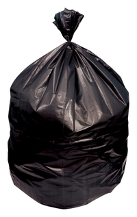 Image for Genuine Joe High-Density Waste Bags, 56 Gallon, Black, Pack of 150 from School Specialty