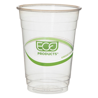 Image for Eco Products Plastic Cold Cups, 16 Ounce, Clear, Pack of 50 from SSIB2BStore