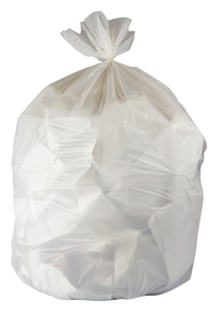 Image for Genuine Joe Low-Density Waste Bags, 16 Gallon, White, Pack of 500 from School Specialty
