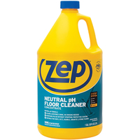 Image for Zep Neutral Floor Cleaner Concentrate, 128 Fluid Ounces, Blue from School Specialty