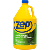 Image for Zep Concentrated All-Purpose Carpet Shampoo, 128 Fluid Ounces, Carton of 4, Blue from School Specialty