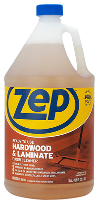 Image for Zep Hardwood & Laminate Floor Cleaner, 128 Fluid Ounces, Brown from School Specialty