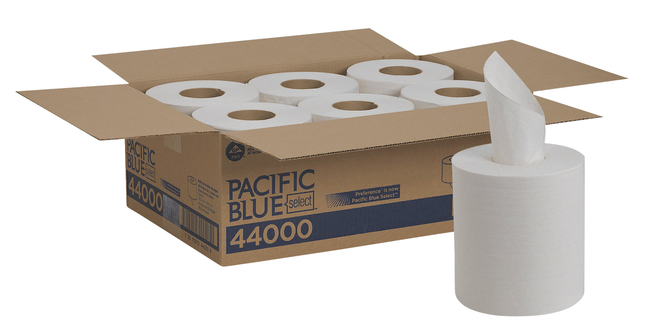 Image for Georgia-Pacific Pacific Blue 2-Ply Paper Towel. Case of 6 from School Specialty