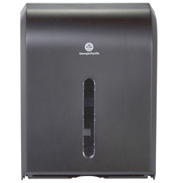 Image for Georgia Pacific Paper Towel Dispenser, 15-1/2 x 11 Inches, Black from School Specialty
