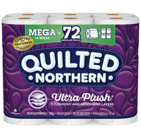Image for Georgia Pacific Quilted Northern Bath Tissue, Case of 18 Rolls from SSIB2BStore