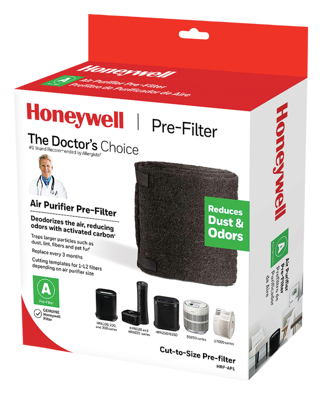 Image for Honeywell Air Purifier Pre-Filter, Activated Carbon, 47 x 15-1/2 Inches from School Specialty