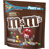Image for M&M's Milk Chocolate Candies, 2.37 Pound Bag from School Specialty
