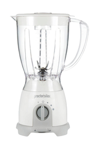 Image for Proctor Silex Space Saving Blender, 8-Speed, White from School Specialty