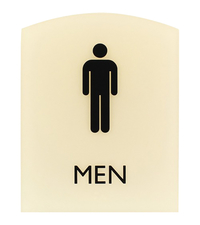 Image for Lorell Restroom Sign from SSIB2BStore
