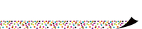 Image for Confetti Magnetic Border Trim from SSIB2BStore