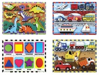 Early Childhood Chunky Puzzles, Item Number 2051284