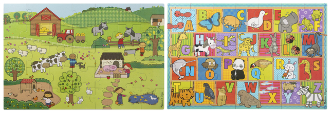 Early Childhood Floor Puzzles, Item Number 2051286