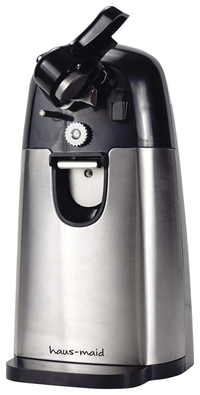 Image for Coffee Pro Haus-Maid Electric Can Opener - Built-in Magnet, Durable - Black from School Specialty