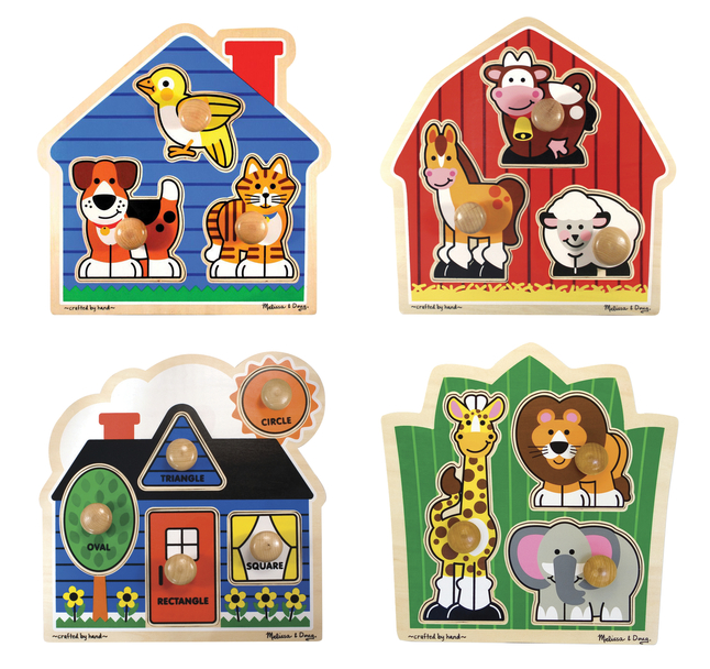 Early Childhood Knob Puzzles, Item Number 2051359