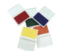 Childcraft Washable Stamp Pad Set, Assorted Colors, Set of 6 Item Number 206227