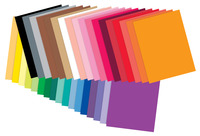 Tru-Ray Construction Paper Classroom Pack, Assorted Sizes and Colors, 2000 Sheets Item Number 206270