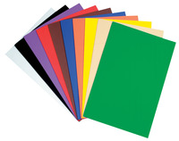Wonderfoam Non-Toxic Foam Sheet, 9 X 12 in, Assorted Bright Color, Set of 10 Item Number 207169