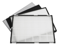 Image for FIELD CONTROLS LLC H12 FILTER SET, HEPA WITH CARBON FILTER AND PRE-FILTER 2 1/2W x 20L x 15H in from School Specialty