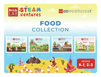 Image for PCS Edventures BrickLAB STEAMventures Food Collection STEAM Activity Books (Gr K-1) from School Specialty