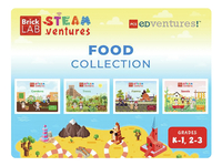 Image for PCS Edventures BrickLAB STEAMventures Food Collection STEAM Activity Books (Gr 2-3) from School Specialty