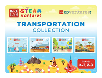 Image for PCS Edventures BrickLAB STEAMventures, Transportation Collection Activity Books (Gr K to 1) from School Specialty