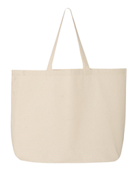 Image for Jumbo Canvas Tote Bag from School Specialty