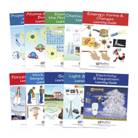 Image for Newpath Learning Physical Science Student Learning Guides with Online Lessons – Set/10 from School Specialty