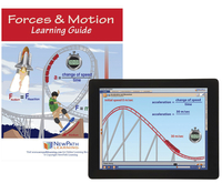 Image for Newpath Learning Forces and Motion Student Learning Guide with Online Lesso from School Specialty