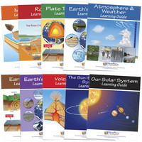 Image for Newpath Learning Earth Science Student Learning Guides with Online Lessons – Set/10 from School Specialty