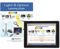 Image for Newpath Learning Light and Optics Student Learning Guide with Online Lesson from School Specialty