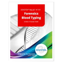 Image for Edvotek MyLab Custom Kit - Forensics Blood Typing from School Specialty
