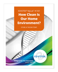 Image for Edvotek MyLab Custom Kit - How Clean is Our Home Environment? from School Specialty
