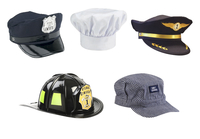 Image for Aeromax Dress-Up Hats and Helmet, Set of 5 from School Specialty