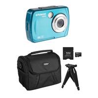 Image for Polaroid 16 Megapixel, Waterproof Camera, Kit, Teal from School Specialty