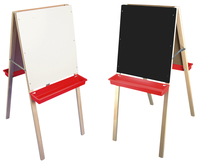 Image for Child's Double Easel, Black Chalk/White Markerboard, 19 x 9 x 44 Inches from SSIB2BStore
