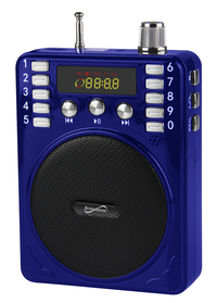 Image for SuperSonic Bluetooth Portable PA System, Blue from School Specialty