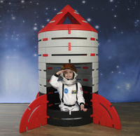 Image for Constructa Rocket, 85 Pieces from School Specialty